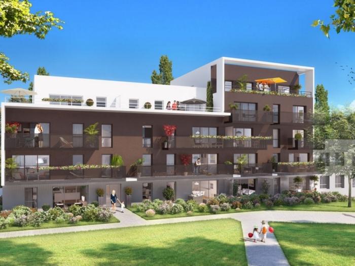 Appartements neufs Vern-sur-Seiche référence 4028 : aperçu n°1