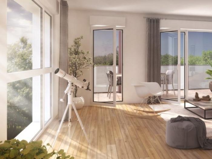 Appartements neufs Vern-sur-Seiche référence 4025 : aperçu n°1