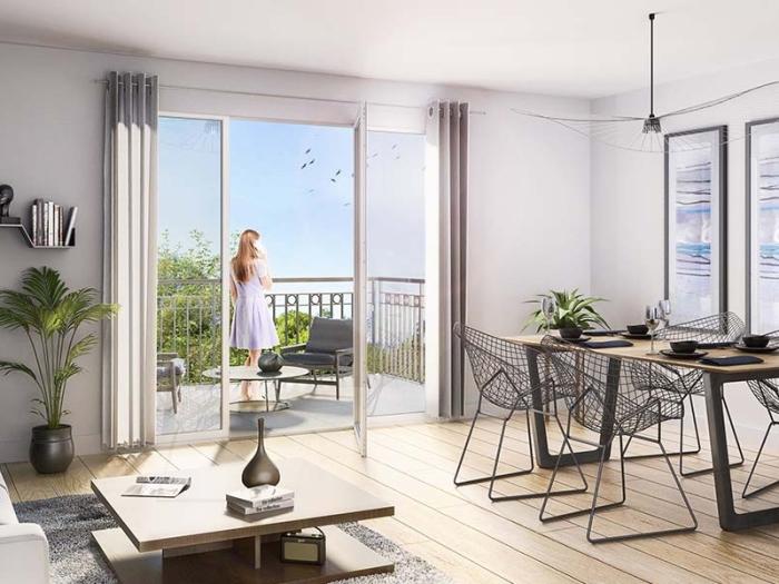 Appartements neufs Saint-Jacques-de-la-Lande référence 4012 : aperçu n°1