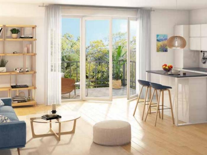 Appartements neufs Saint-Jacques-de-la-Lande référence 4012 : aperçu n°2