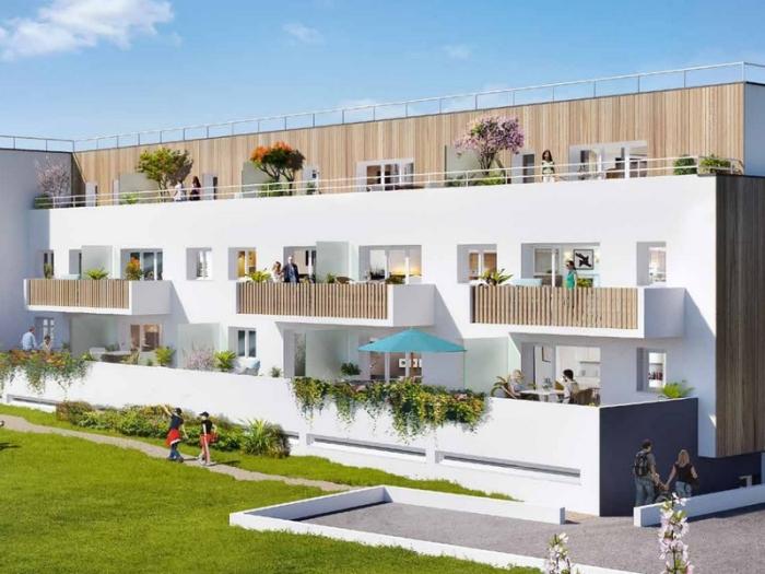 Appartements neufs Chartres-de-Bretagne référence 4010 : aperçu n°0