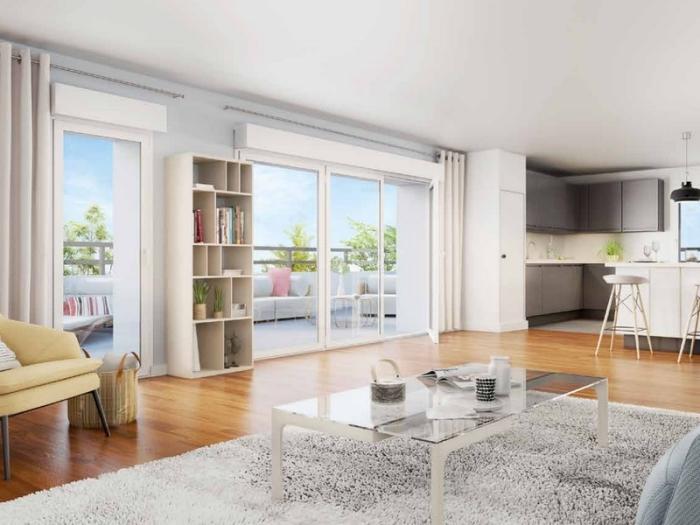 Appartements neufs Chartres-de-Bretagne référence 4010 : aperçu n°1