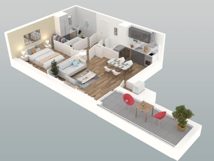 Appartements neufs Mordelles référence 3981 : aperçu n°3