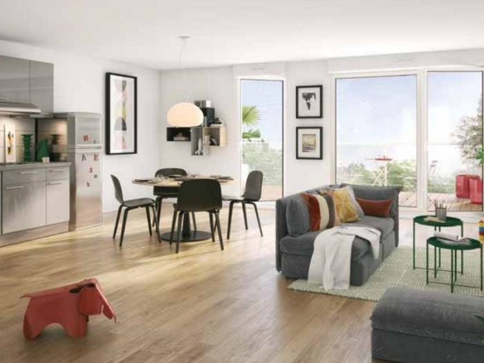 Appartements neufs Le Rheu référence 3991 : aperçu n°1