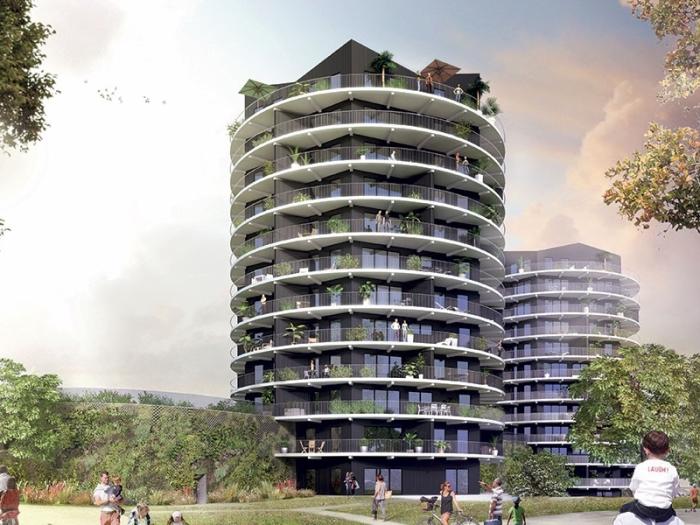 Appartements neufs Cleunay - Arsenal - Redon référence 3990 : aperçu n°0