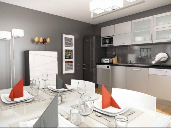 Appartements neufs Cleunay - Arsenal - Redon référence 3990 : aperçu n°2