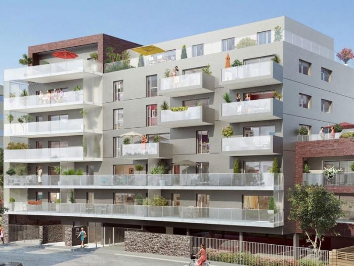 Appartements neufs Thabor – Saint-Hélier - Alphonse Guérin référence 3988 : aperçu n°0