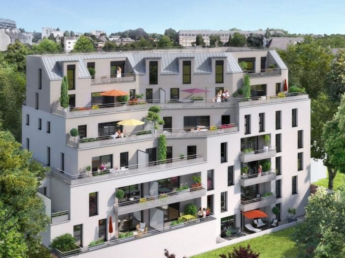 Appartements neufs Thabor – Saint-Hélier - Alphonse Guérin référence 4385 : aperçu n°0