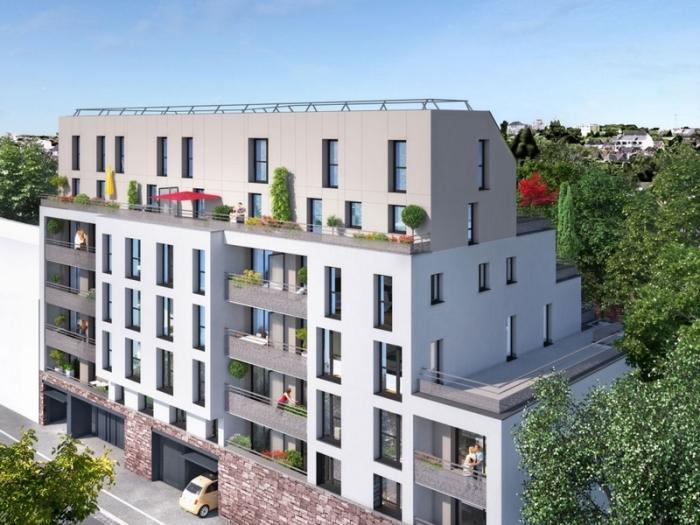 Appartements neufs Thabor – Saint-Hélier - Alphonse Guérin référence 4385 : aperçu n°3