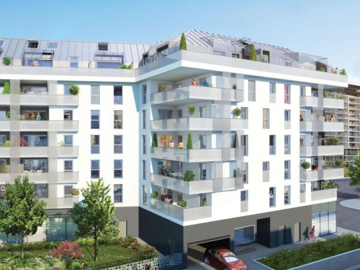 Appartements neufs Thabor – Saint-Hélier - Alphonse Guérin référence 4387 : aperçu n°0