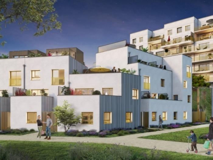 Appartements neufs Jeanne d'Arc - Longs-Champs - Atalante Beaulieu référence 3986 : aperçu n°0