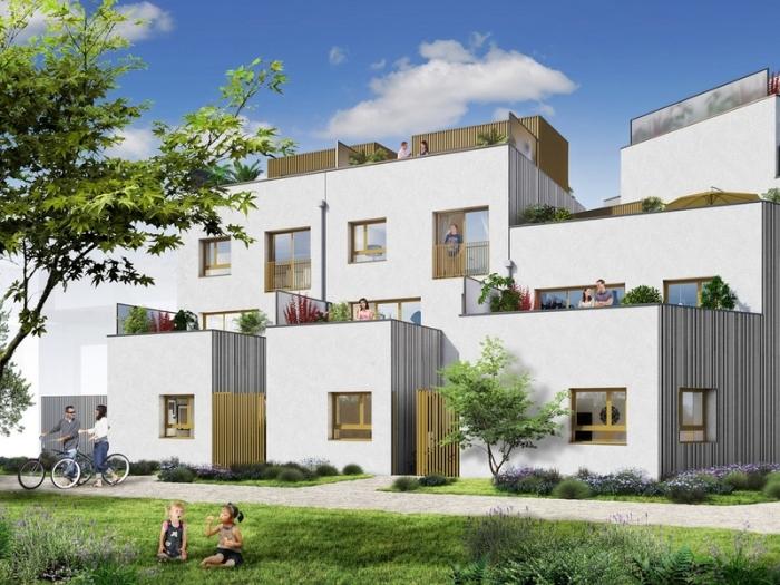 Appartements neufs Jeanne d'Arc - Longs-Champs - Atalante Beaulieu référence 3986 : aperçu n°2