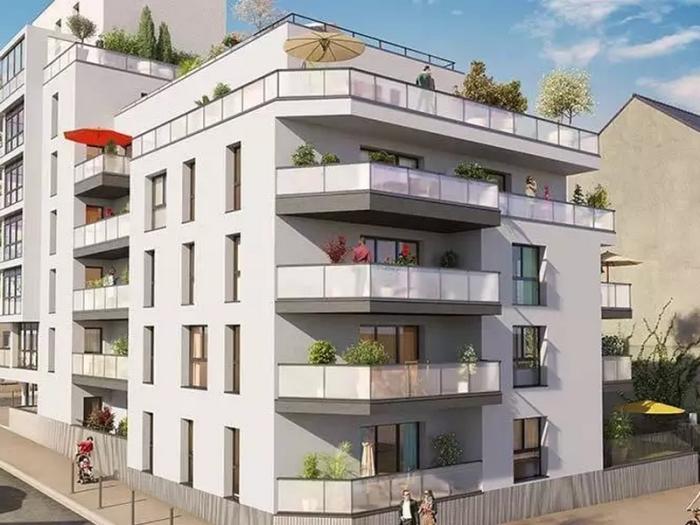 Appartements neufs Bourg-l'Évesque - la Touche - Moulin du Comte référence 3976 : aperçu n°0