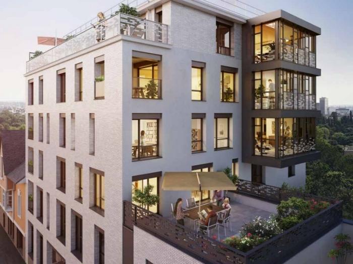 Appartements neufs Bourg-l'Évesque - la Touche - Moulin du Comte référence 3975 : aperçu n°0