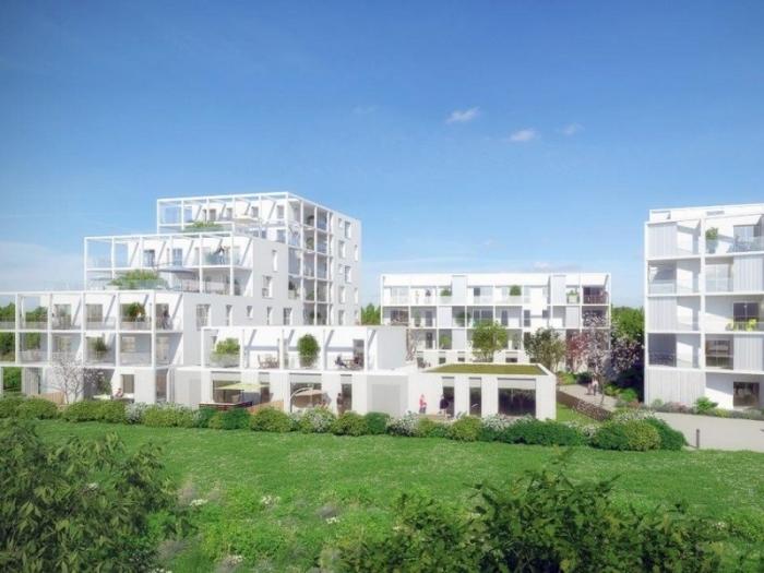 Appartements neufs Bourg-l'Évesque - la Touche - Moulin du Comte référence 3974 : aperçu n°0