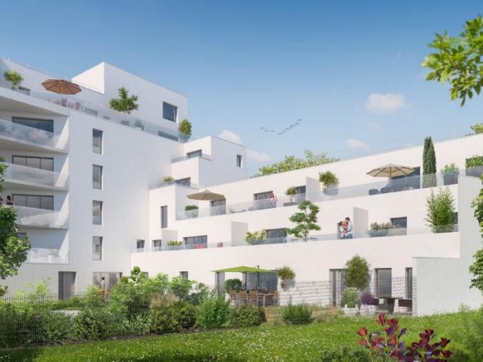 Appartements neufs Bourg-l'Évesque - la Touche - Moulin du Comte référence 3973 : aperçu n°0
