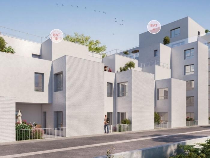Appartements neufs Bourg-l'Évesque - la Touche - Moulin du Comte référence 3973 : aperçu n°1