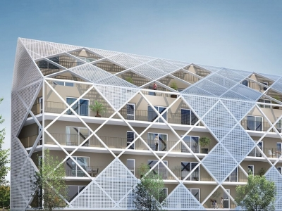 Appartements neufs Cleunay - Arsenal - Redon référence 4380