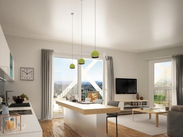 Appartements neufs Cleunay - Arsenal - Redon référence 4380 : aperçu n°2