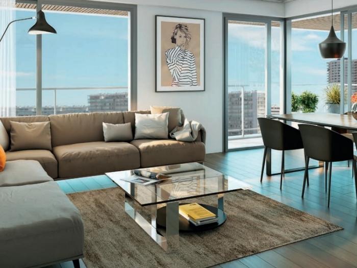 Appartements neufs Cleunay - Arsenal - Redon référence 3971 : aperçu n°1