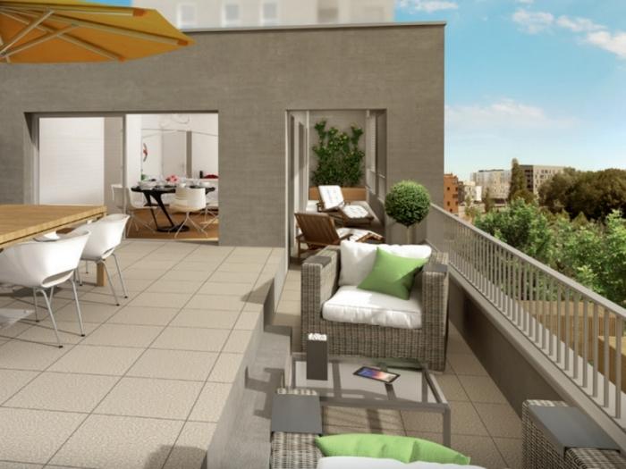 Appartements neufs Cleunay - Arsenal - Redon référence 3970 : aperçu n°2