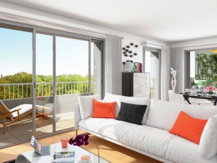 Appartements neufs Cleunay - Arsenal - Redon référence 3970 : aperçu n°1