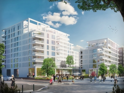 Appartements neufs Cleunay - Arsenal - Redon référence 4381