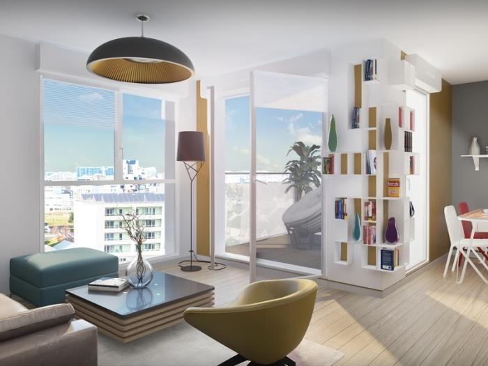 Appartements neufs Cleunay - Arsenal - Redon référence 4381 : aperçu n°1