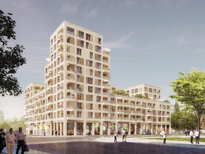Appartements neufs Cleunay - Arsenal - Redon référence 4382 : aperçu n°0