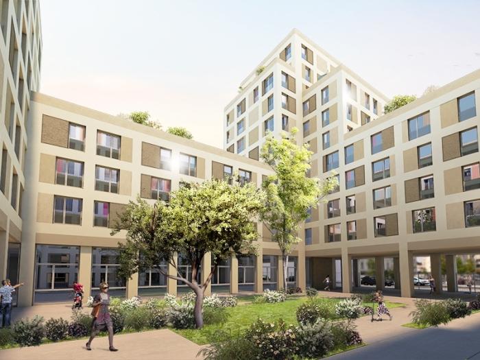 Appartements neufs Cleunay - Arsenal - Redon référence 4382 : aperçu n°2