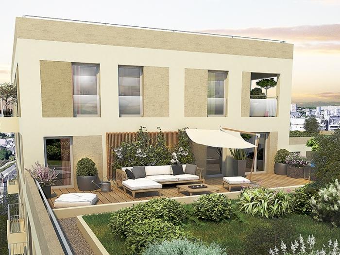Appartements neufs Cleunay - Arsenal - Redon référence 4382 : aperçu n°4