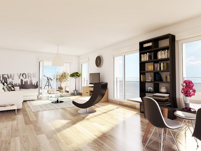 Appartements neufs Cleunay - Arsenal - Redon référence 4382 : aperçu n°1