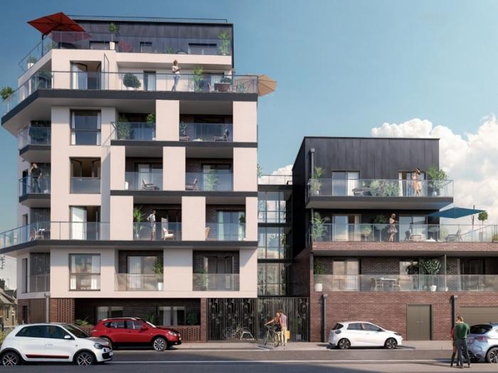Appartements neufs Cleunay - Arsenal - Redon référence 3968 : aperçu n°0