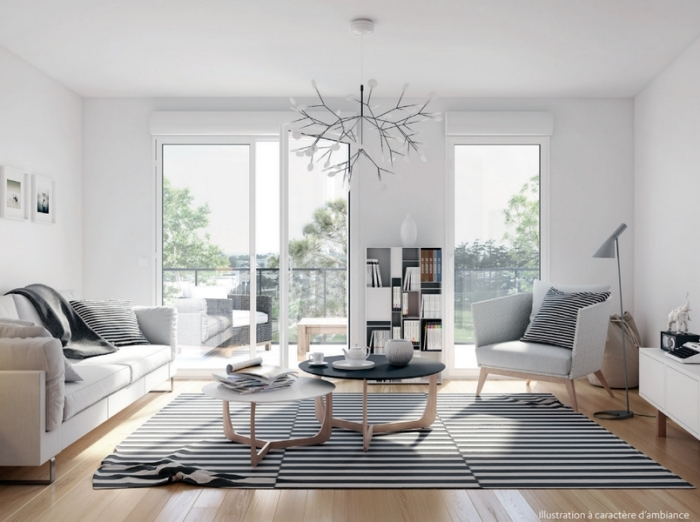 Appartements neufs Cleunay - Arsenal - Redon référence 3968 : aperçu n°1