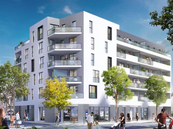 Appartements neufs Sud-Gare référence 3964 : aperçu n°0