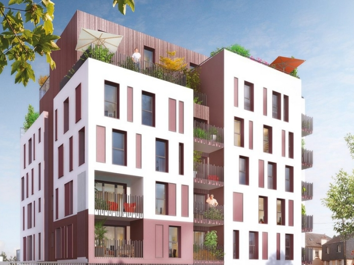 Appartements neufs Francisco-Ferrer - Vern - Landry - Poterie référence 3958 : aperçu n°0