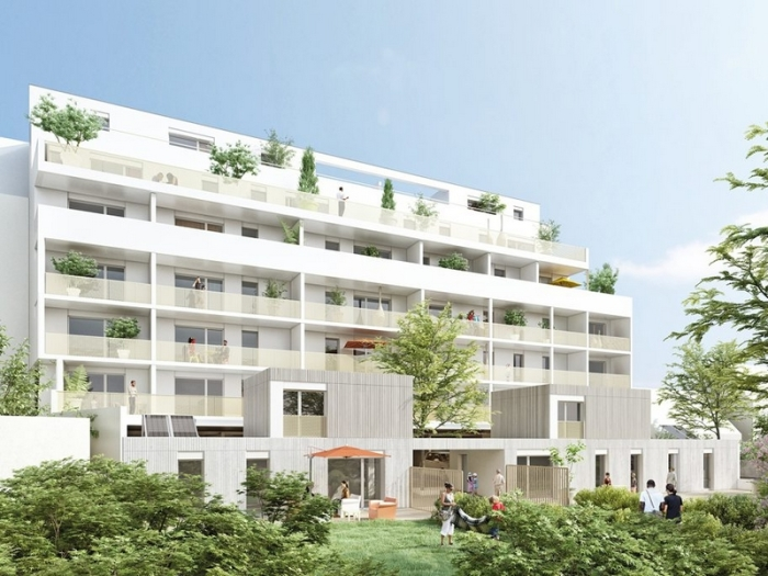 Appartements neufs Francisco-Ferrer - Vern - Landry - Poterie référence 4383 : aperçu n°0