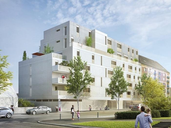Appartements neufs Francisco-Ferrer - Vern - Landry - Poterie référence 4383 : aperçu n°3