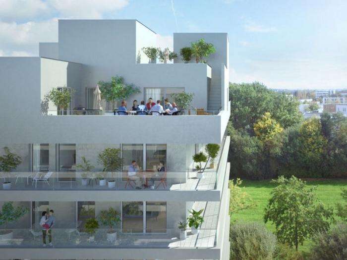 Appartements neufs Francisco-Ferrer - Vern - Landry - Poterie référence 3957 : aperçu n°3