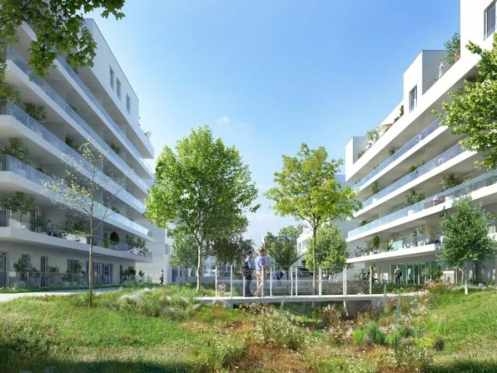 Appartements neufs Francisco-Ferrer - Vern - Landry - Poterie référence 3957 : aperçu n°4