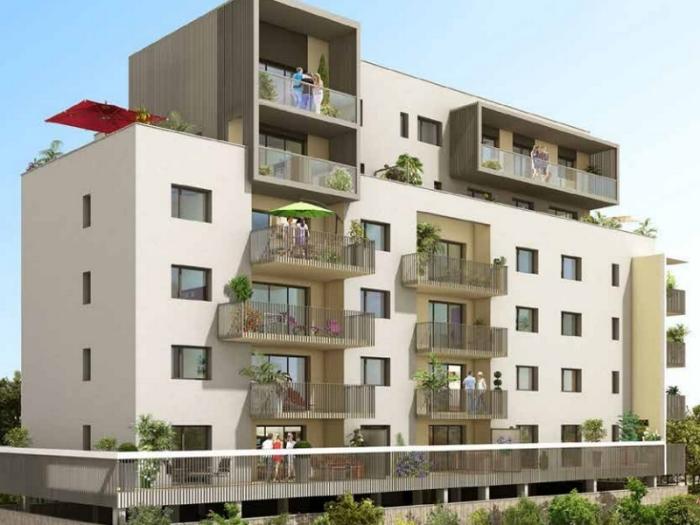 Appartements neufs Francisco-Ferrer - Vern - Landry - Poterie référence 4384 : aperçu n°0