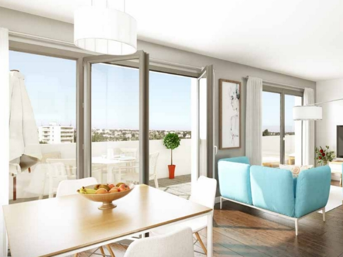 Appartements neufs Francisco-Ferrer - Vern - Landry - Poterie référence 4384 : aperçu n°1