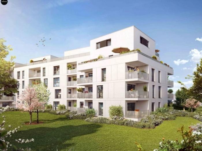 Appartements neufs Francisco-Ferrer - Vern - Landry - Poterie référence 3955 : aperçu n°0