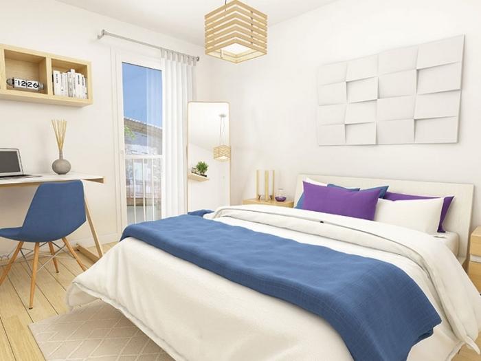 Appartements neufs Francisco-Ferrer - Vern - Landry - Poterie référence 3953 : aperçu n°2