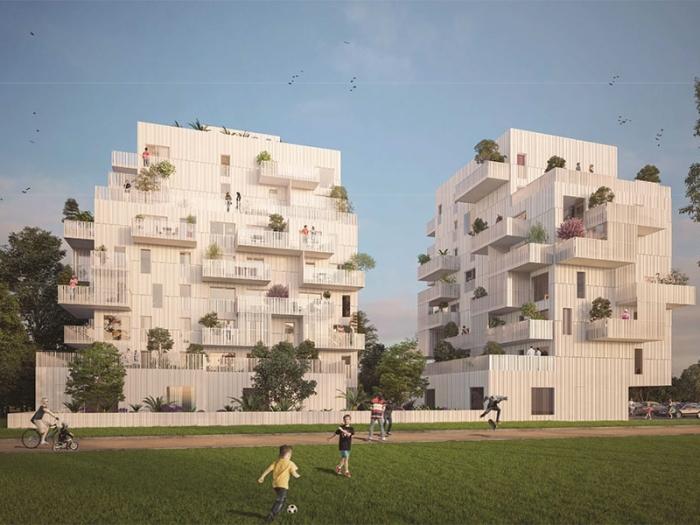 Appartements neufs Le Blosne référence 3951 : aperçu n°0