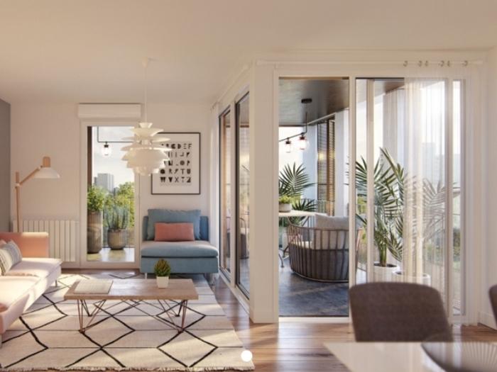Appartements neufs Le Blosne référence 3950 : aperçu n°1