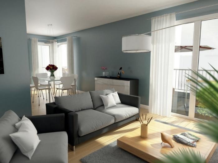 Appartements neufs Jeanne d'Arc - Longs-Champs - Atalante Beaulieu référence 3944 : aperçu n°1