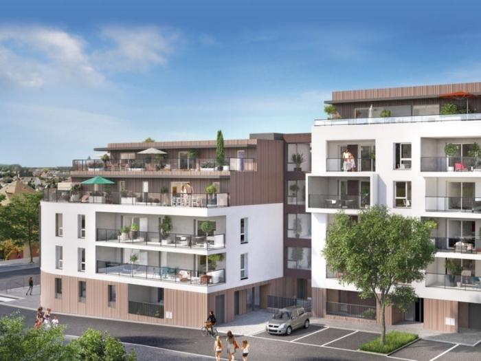 Appartements neufs Jeanne d'Arc - Longs-Champs - Atalante Beaulieu référence 3943 : aperçu n°1