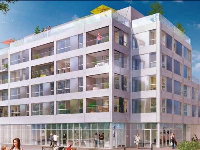 Appartements neufs Bourg-l'Évesque - la Touche - Moulin du Comte référence 3939 : aperçu n°0