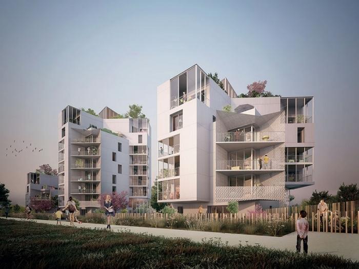 Appartements neufs Villejean - Beauregard référence 3933 : aperçu n°2